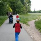 Rollern im Fürther Stadtpark