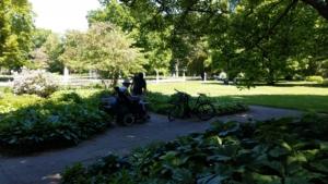 Springbrunnen Stadtpark Fürth